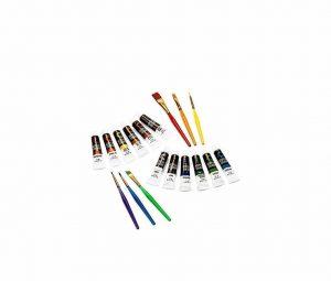 Creative Joy Acrylic Paint and Brushes