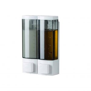 YISMAN 250ML ABS Plastic Drill Free Soap Dispenser