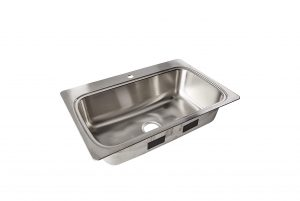 Kohler 33 x 22-Inches Drop Bowl Sink Stainless Steel