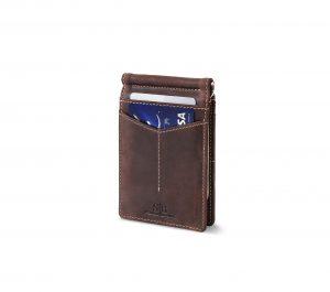 SERMAN BRANDS RFID Blocking Money Clip Wallet