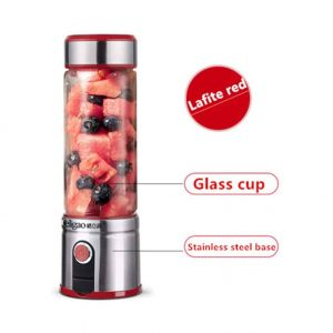 AQree Glass Smoothie Mini Blender