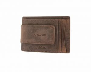 Viosi Money Clip Leather Wallet