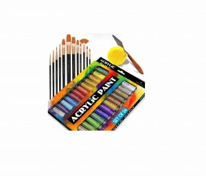 Benicci Set of 24 Complete Acrylic Rich Pigment Colors