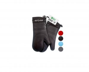 Frux Home and Yard Oven Mitts – Black