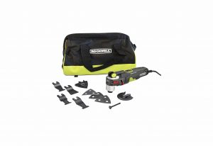Rockwell AW400 Oscillating Multi-Tool with a Carry Bag