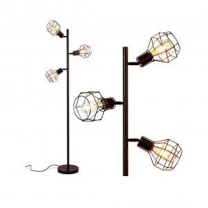 Brightech Robin Industrial Tree Floor Lamp