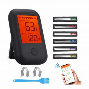 Comfook Wireless Bluetooth Digital Meat Thermometer