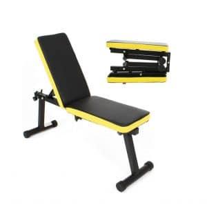 DlandHome Home Gym Adjustable Bench