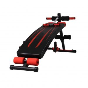 LAZ Back Extension 550lbs Adjustable Sit Up Bench