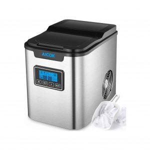 Aicok 26lb Portable Ice Maker Machine