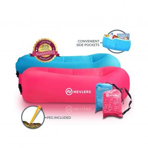 Nevlers Inflatable 2 Pack Lounger