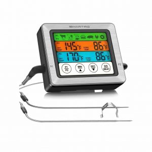 SMARTRO Dual Probe Digital Food Meat Thermometer