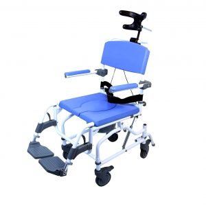 Healthline Medical MPU190 Shower Commode Tilt Chair