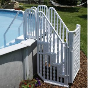 Swim Time Easy Step Pool with Gate