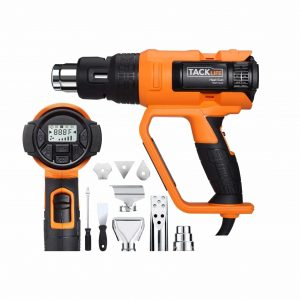 TACKLIFE Professional 122 to 1202-Degrees F Heat Gun