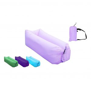 AB VOLTS Fast Inflatable Lounger Portable Air Bed Sofa