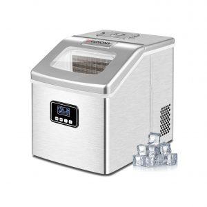 Euhomy Ice Maker Machine 40Lbs 24Hr