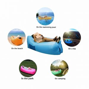 SIEMOO Inflatable Sofa Outdoor Portable Waterproof Lounger