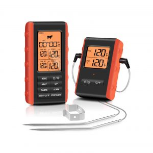 FEELLE Wireless Meat Thermometer 328Ft Range