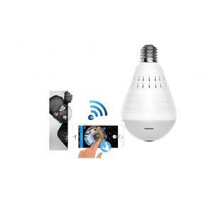 YFeinei LED Light Bulb Camera
