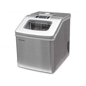 FRIGIDAIRE 40lbs Large Clear Stainless Steel Ice Maker