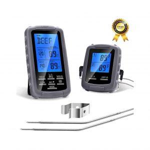 PETRIP Remote Digital BBQ Wireless Meat Thermometer