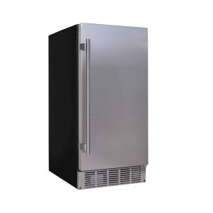 EdgeStar 15Inch Wide Built-in Ice Maker 25lbs Daily Product