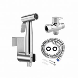 GASLIKE Stainless Steel Handheld Bidet Sprayer