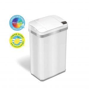 iTouchless 4 Gallons Sensor Automatic Trash Can