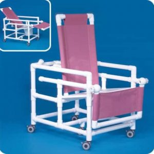 Innovative Products Unlimited SCC250RCFS Reclining Shower Chair Commode