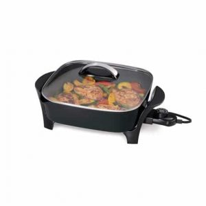 Presto Electric Skillet with glass cover