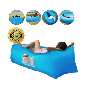 Xoolover Inflatable Air Lounger Portable Airbag Chair