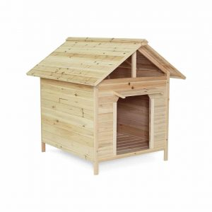Dibea Wooden Dog House Kennel