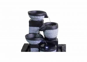 Ferrisland 4-Tier Fountain Water Blows for Office and Home Décor