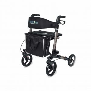 Health Line Massage Products Compact Rollator for Seniors