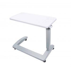 Vaunn Medical Adjustable Overbed Table w: Wheels