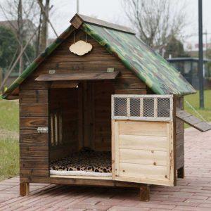 AB Pet Nest Rainproof Waterproof Outdoor Wooden Dog House