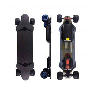 Mfnyp 600W Dual Motor Electric Skateboard Longboard