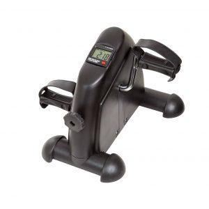 Wakeman Portable Indoor Under Desk Exercise Machine Bike