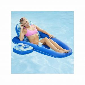 AQUA Campania 2-In-1 Tanner Pool Lounger