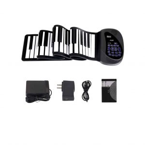 ANDSF Portable Flexible 88 Key Piano Double Loudspeaker