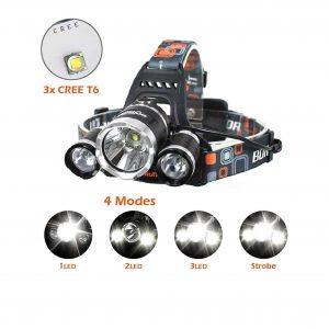 Ankeca LED 20,000 Lumens CREE LED 4 Modes Headlamp