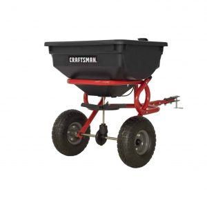 CRAFTSMAN 85LBS Tow Broadcast Spreader