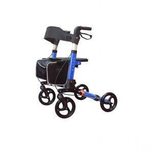 KarePro Lightweight Compact Designed Folding Rollator Walker