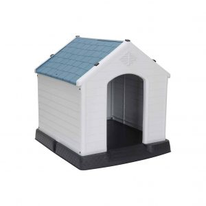 ZENY Plastic Dog House Water-Resistant Kennel