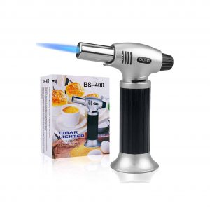 AOHEZI Culinary Blow Torch Flame Adjustable