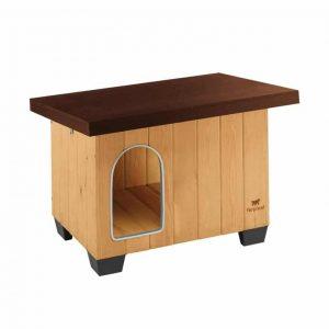 Ferplast Outdoor Dog House Wood Kennel