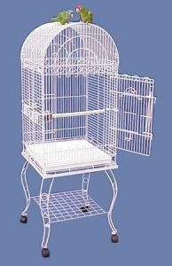 Hana Hut Dometop Large Bird Cage with Stand