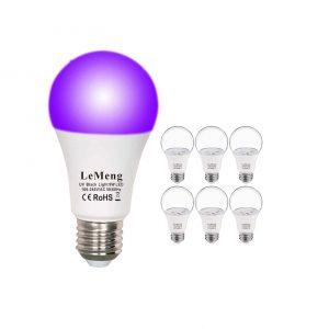 LeMeng UV LED Black Lights Bulb