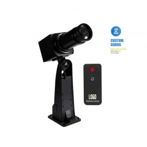 Logobos 50W LED GOBO Rotatable Manual Zoom with Remote Control